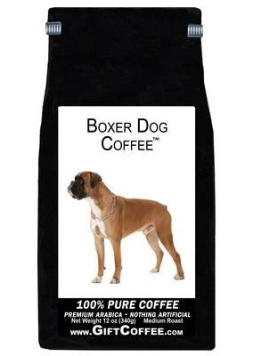 Boxer Dog Gift Coffee, 12 Ounce Bag of Gourmet Coffee
