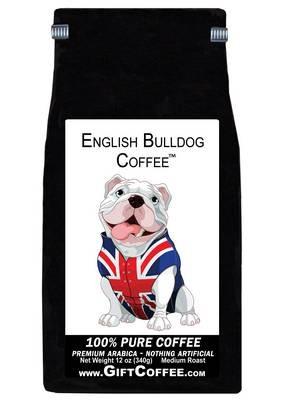 English Bulldog Gift Coffee, 12 Ounce Bag of Gourmet Coffee