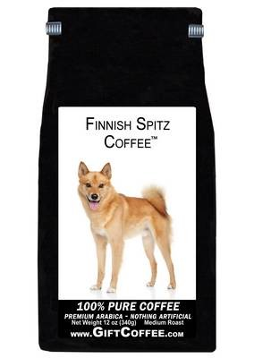 Finnish Spitz Gift Coffee, 12 Ounce Bag of Gourmet Coffee