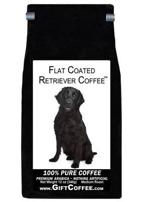 Flat Coated Retriever Gift Coffee, 12 Ounce Bag of Gourmet Coffee