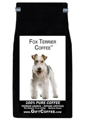 Fox Terrier Gift Coffee, 12 Ounce Bag of Gourmet Coffee