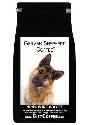 German Shepherd Gift Coffee, 12 Ounce Bag of Gourmet Coffee