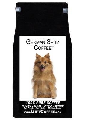 German Spitz Gift Coffee, 12 Ounce Bag of Gourmet Coffee