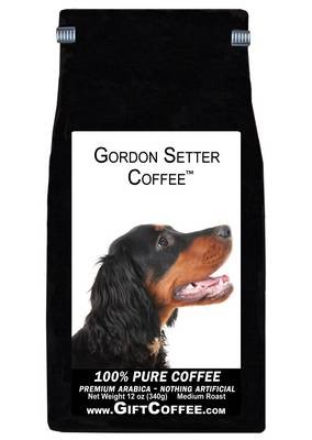 Gordon Setter Gift Coffee, 12 Ounce Bag of Gourmet Coffee