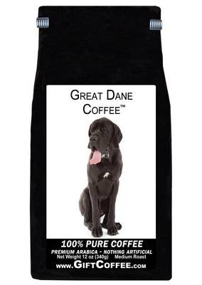 Great Dane Gift Coffee, 12 Ounce Bag of Gourmet Coffee