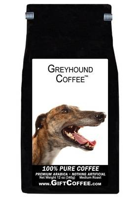 Greyhound Gift Coffee, 12 Ounce Bag of Gourmet Coffee
