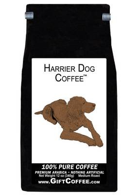 Harrier Dog Gift Coffee, 12 Ounce Bag of Gourmet Coffee