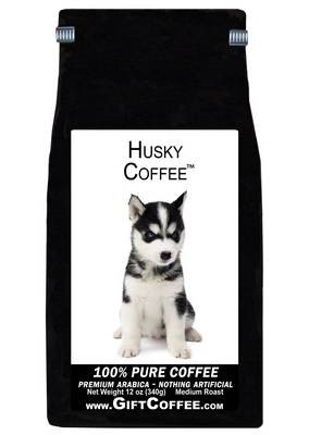 Husky Gift Coffee, 12 Ounce Bag of Gourmet Coffee