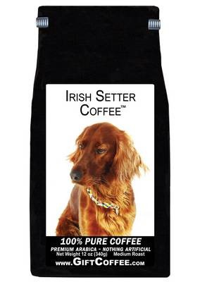 Irish Setter Gift Coffee, 12 Ounce Bag of Gourmet Coffee
