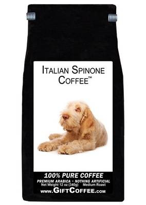Italian Spinone Gift Coffee, 12 Ounce Bag of Gourmet Coffee