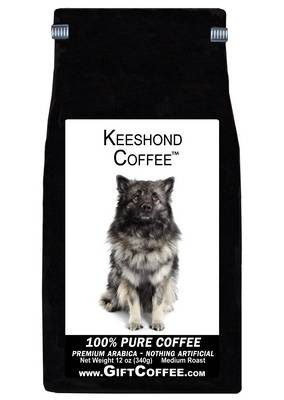 Keeshond Gift Coffee, 12 Ounce Bag of Gourmet Coffee