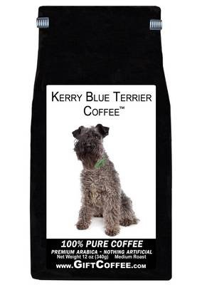 Kerry Blue Terrier Gift Coffee, 12 Ounce Bag of Gourmet Coffee
