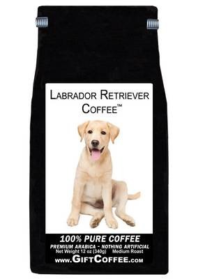 Labrador Retriever Gift Coffee, 12 Ounce Bag of Gourmet Coffee