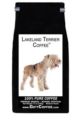 Lakeland Terrier Gift Coffee, 12 Ounce Bag of Gourmet Coffee