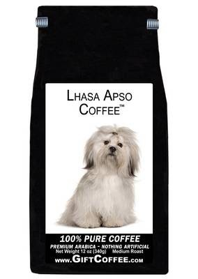 Lhasa Apso Gift Coffee, 12 Ounce Bag of Gourmet Coffee