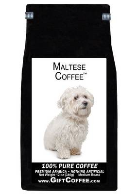 Maltese Gift Coffee, 12 Ounce Bag of Gourmet Coffee