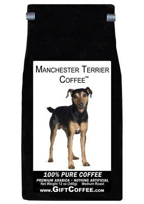 Manchester Terrier Gift Coffee, 12 Ounce Bag of Gourmet Coffee