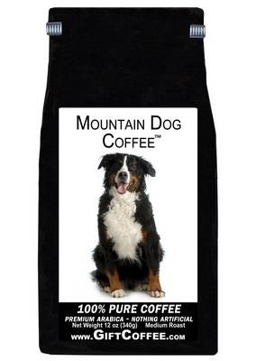 Mountain Dog Gift Coffee, 12 Ounce Bag of Gourmet Coffee