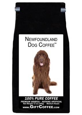 Newfoundland Dog Gift Coffee, 12 Ounce Bag of Gourmet Coffee