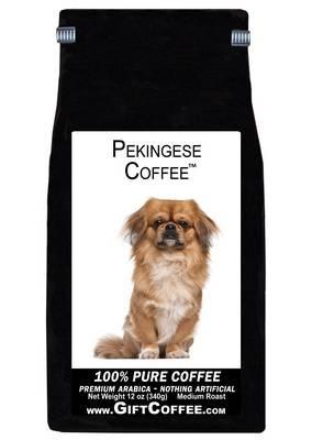 Pekingese Gift Coffee, 12 Ounce Bag of Gourmet Coffee