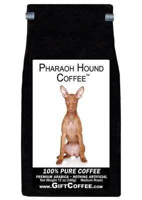 Pharaoh Hound Gift Coffee, 12 Ounce Bag of Gourmet Coffee