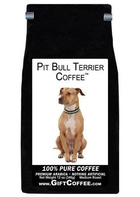 Pit Bull Terrier Gift Coffee, 12 Ounce Bag of Gourmet Coffee