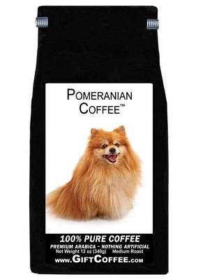 Pomeranian Gift Coffee, 12 Ounce Bag of Gourmet Coffee