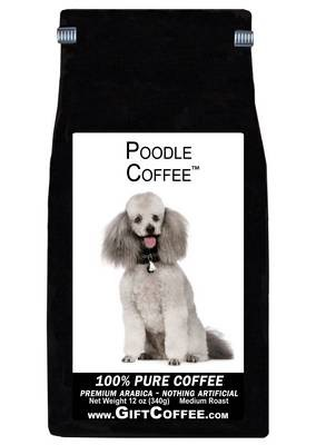 Poodle Gift Coffee, 12 Ounce Bag of Gourmet Coffee