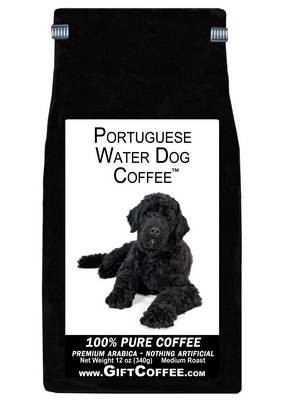 Portuguese Water Dog Gift Coffee, 12 Ounce Bag of Gourmet Coffee