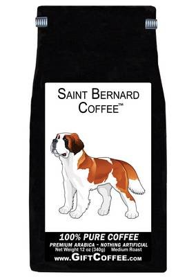Saint Bernard Gift Coffee, 12 Ounce Bag of Gourmet Coffee