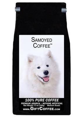 Samoyed Gift Coffee, 12 Ounce Bag of Gourmet Coffee