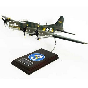B-17F Memphis Belle Military Aircraft Model