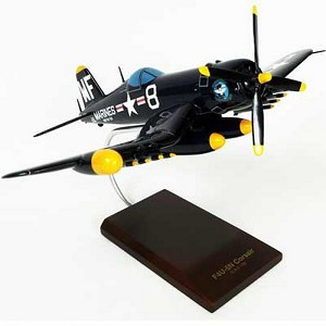 F4U-5NL Nite Corsair Military Aircraft Model