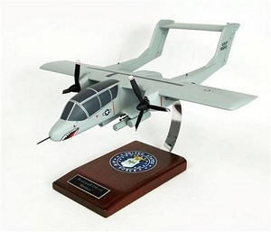 OV-10 Bronco Military Aircraft Model