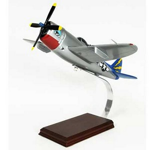 P-47B Thunderbolt Razorback Military Aircraft Model