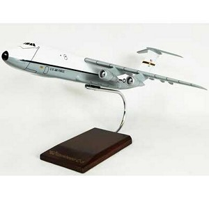 C-5A/B Galaxy (White-Gray) Military Aircraft Model