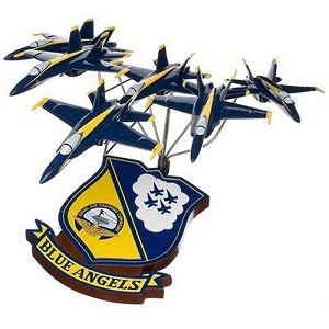 F/A-18 Blue Angels in Formation Military Aircraft Model
