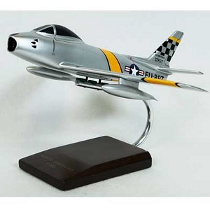 F-86F Sabre Military Aircraft Model