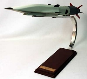 X-51 SED-WR Waverider Military Aircraft Model