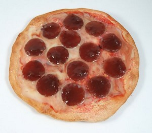 Fake Food Personal Size Pepperoni Cheese Pizza