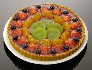 Fake Food Fruit Torte