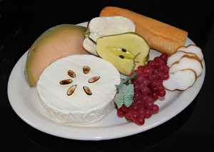 Fake Food Baked Brie Platter