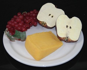 Fake Food Fruit & Cheese Plate