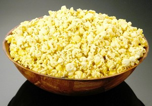 Fake Food Large Bowl Popcorn