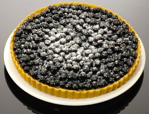 Fake Food Blueberry Torte