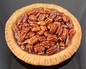 Fake Food Pecan Pie