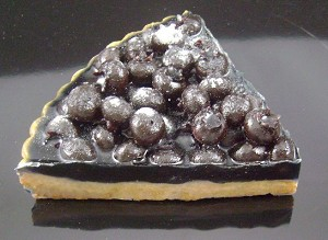 Fake Food Slice Out Blueberry Torte