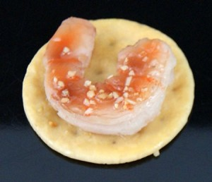 Fake Food Shrimp Hors d'oeuvre - One Piece