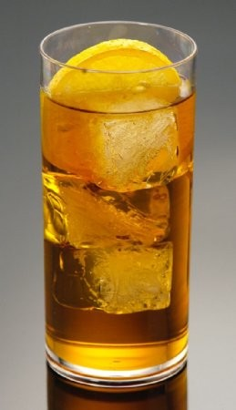 Fake Food Acrylic Ice Tea Glass