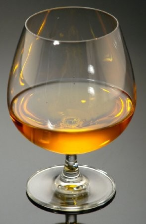 Fake Food Brandy Snifter